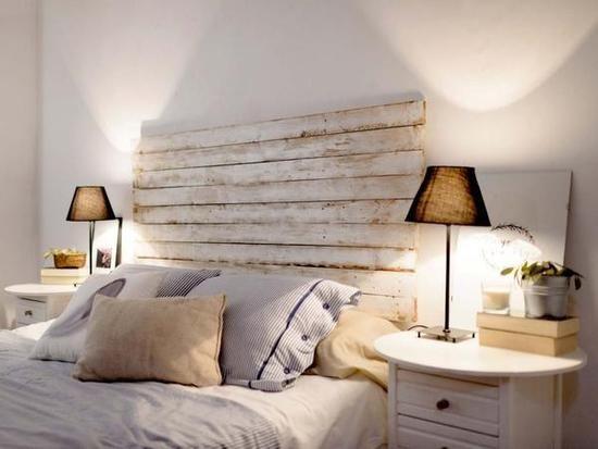 Cabeceros s per originales para renovar tu dormitorio - Puff cama leroy merlin ...