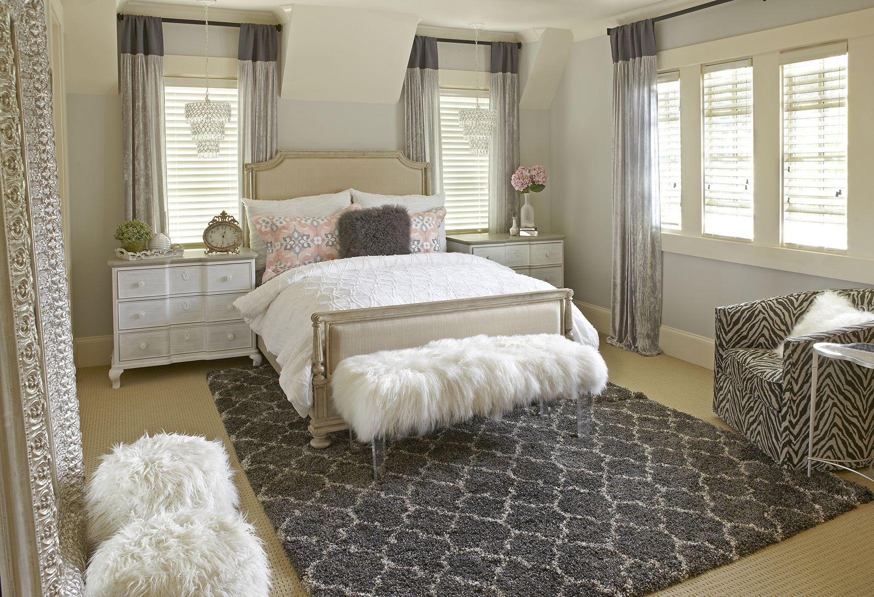 Teenager Bedroom Design Betty Retro Ottoman