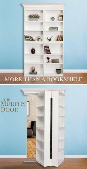 BiFolding Surface Mount Door in 2020 Hidden rooms
