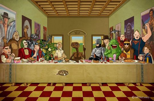 80 S Last Supper Santa Ceia Quadro