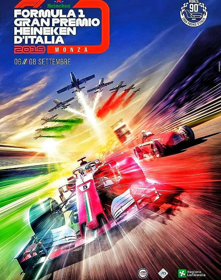 Pin By Michael West On Formule 1 In 2020 Grand Prix Posters Italian Grand Prix F1 Poster