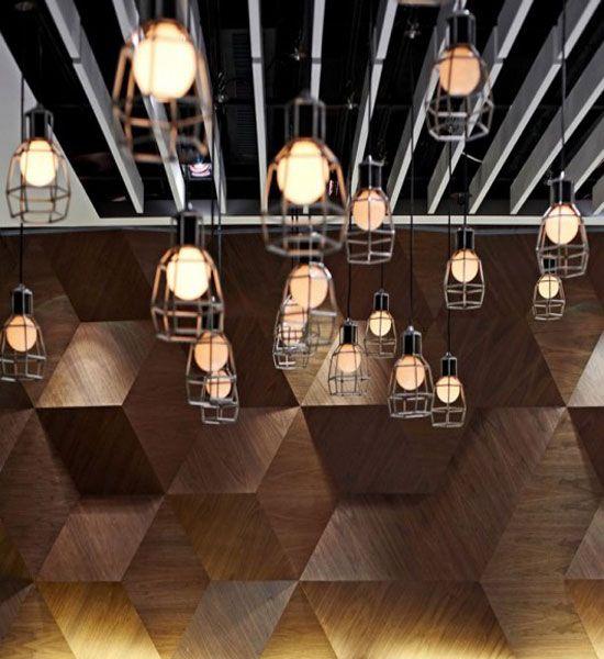 BeautifulLightingFairwoodBuddiesCafe  Lighting  Pinterest