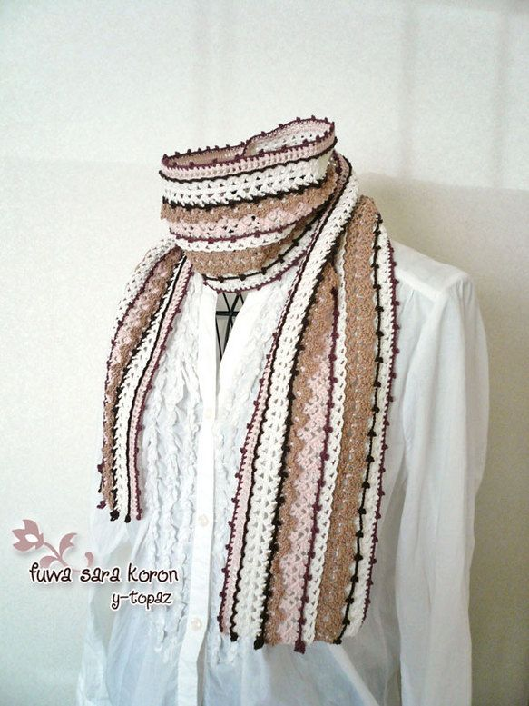 crochet scarf | Cr♡chet scarves & shawls | Pinterest | Tejer ...