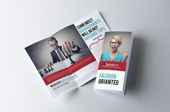 Business Trifold Brochure Template By Business Flyers On - Online brochures templates