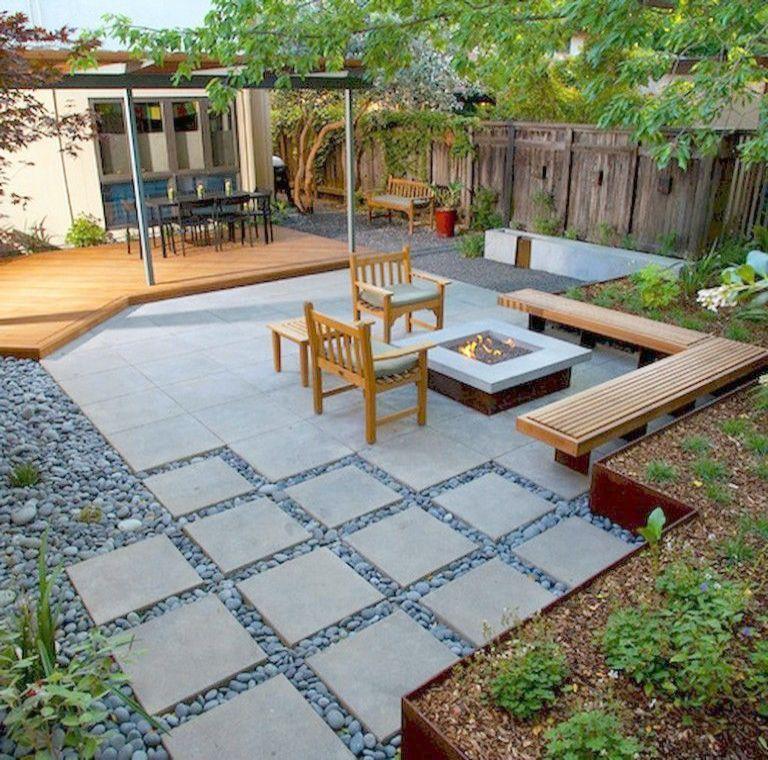 Landscape Design Courses Newcastle Few Modern Front Yard Landscape Design Ideas Via La Modern Backyard Landscaping Backyard Landscaping Designs Modern Backyard