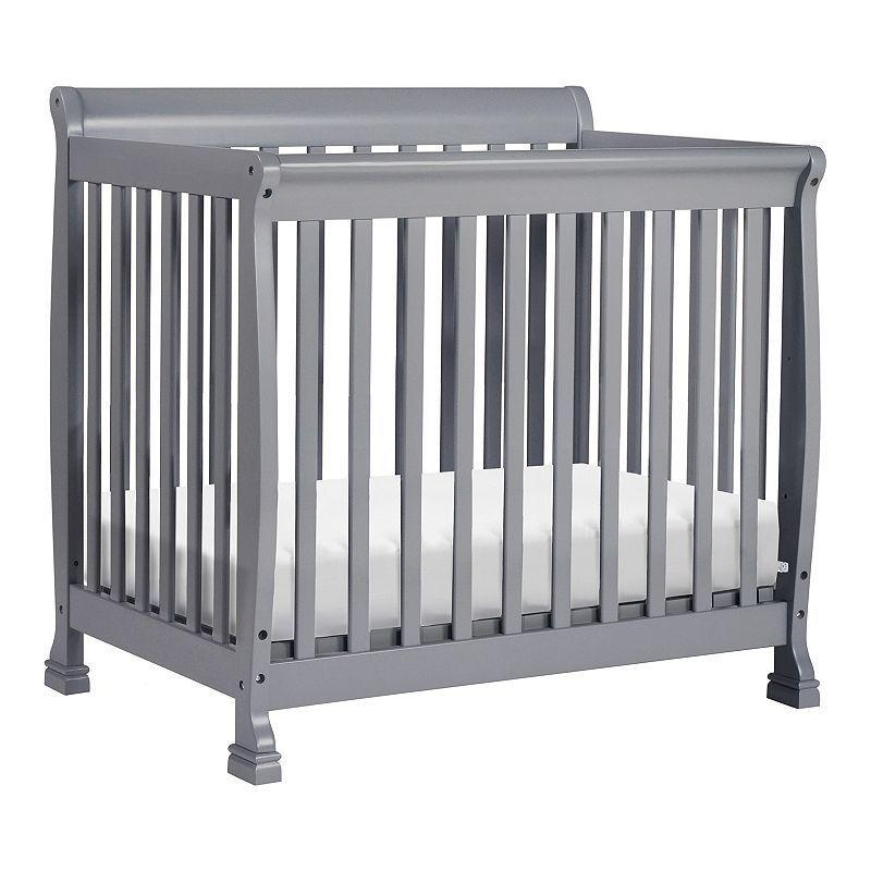 Davinci Kalani 2 In 1 Convertible Mini Crib Grey Mini Crib