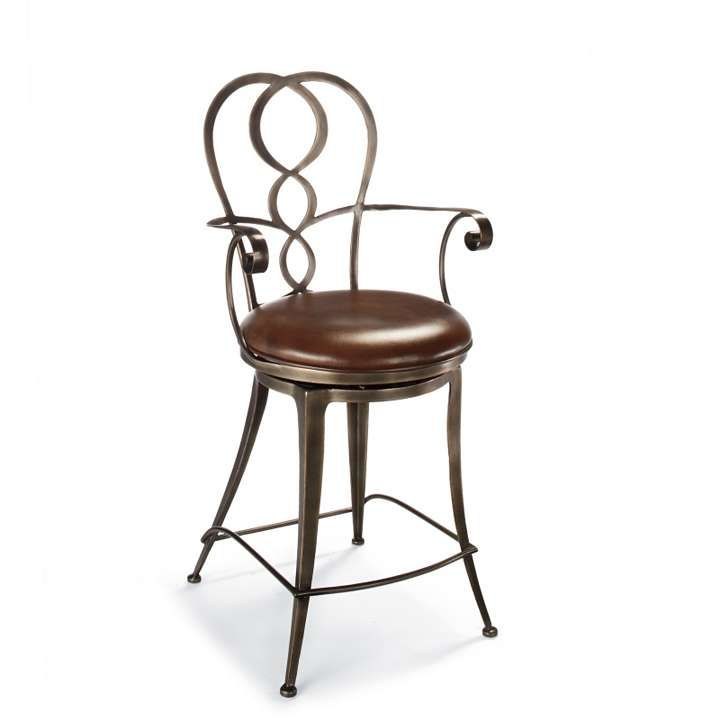 Wondrous I Think Leather Seat Oil Rubbed Bronze Frame But No Arms Alphanode Cool Chair Designs And Ideas Alphanodeonline