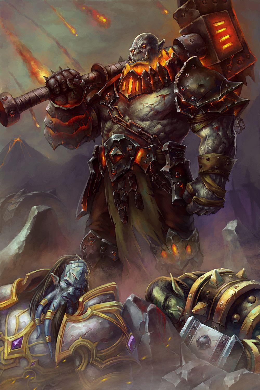 Blackhand | Warcraft in 2019 | World of warcraft, Warcraft art