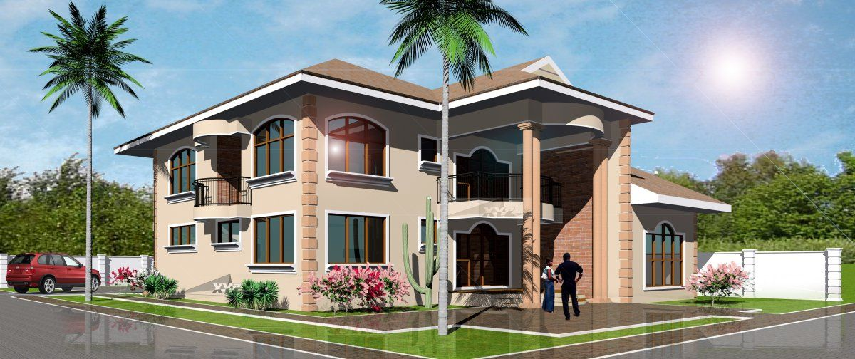 Dream Home Design Plan For Ghana And All Africa Countries House Plans One Bedroom House Plans Two Story House Design