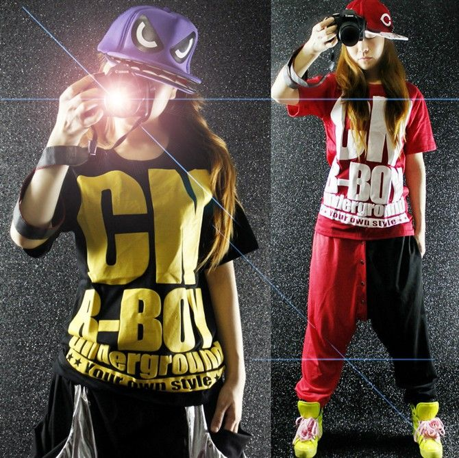 Marvelous Hip Hop Clothes For Girls Stylish Hip Hop Girl Stock Photo Hairstyle Inspiration Daily Dogsangcom