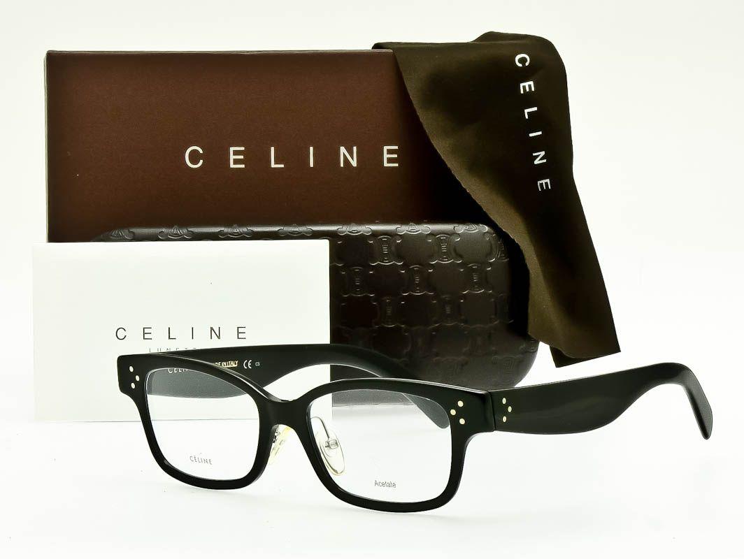 Celine eyeglass frame cl41438f 06z 52mm asian fit in