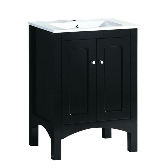 Small White Countertop For Black 18 Inch Wide Single Sink Bathroom Vanity Bathroom Astonishing 18 Inch Wide Bathroom Vvanity Dengan Gambar