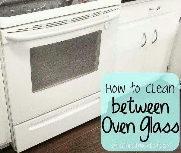 I Just Took My Oven Door Apart To Clean Inside Glass Door Wasnt