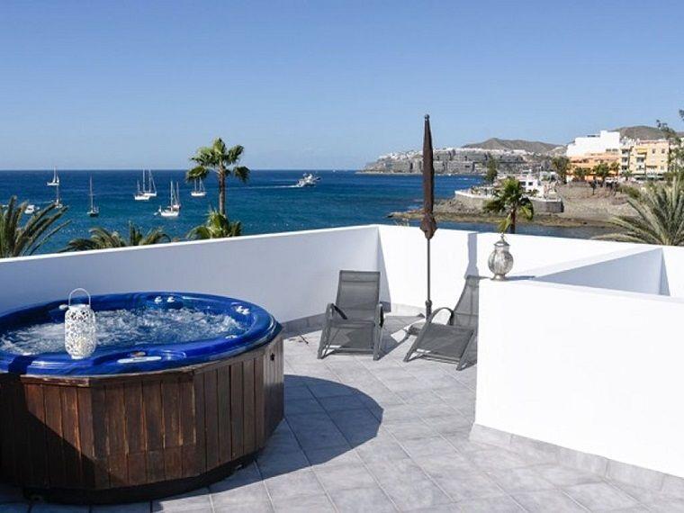 Arredare terrazzo appartamento idea vasca terrazze e balconi
