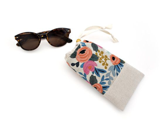 d18047642c Padded Sunglasses Case with Cleaning Cloth in Les by MadeOnMainVT ...