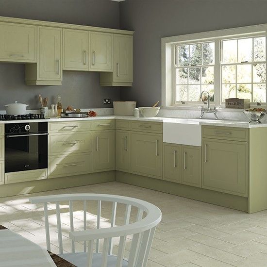 Green Kitchen Units Sage Green Paint Colors For Kitchen: Green Kitchen Colour Ideas - Home Trends
