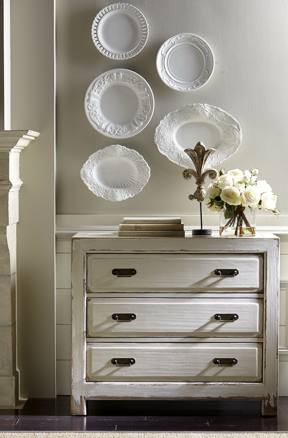 Ming Hall Chest Cabinets Chests Living Room Storage White Decor Decor