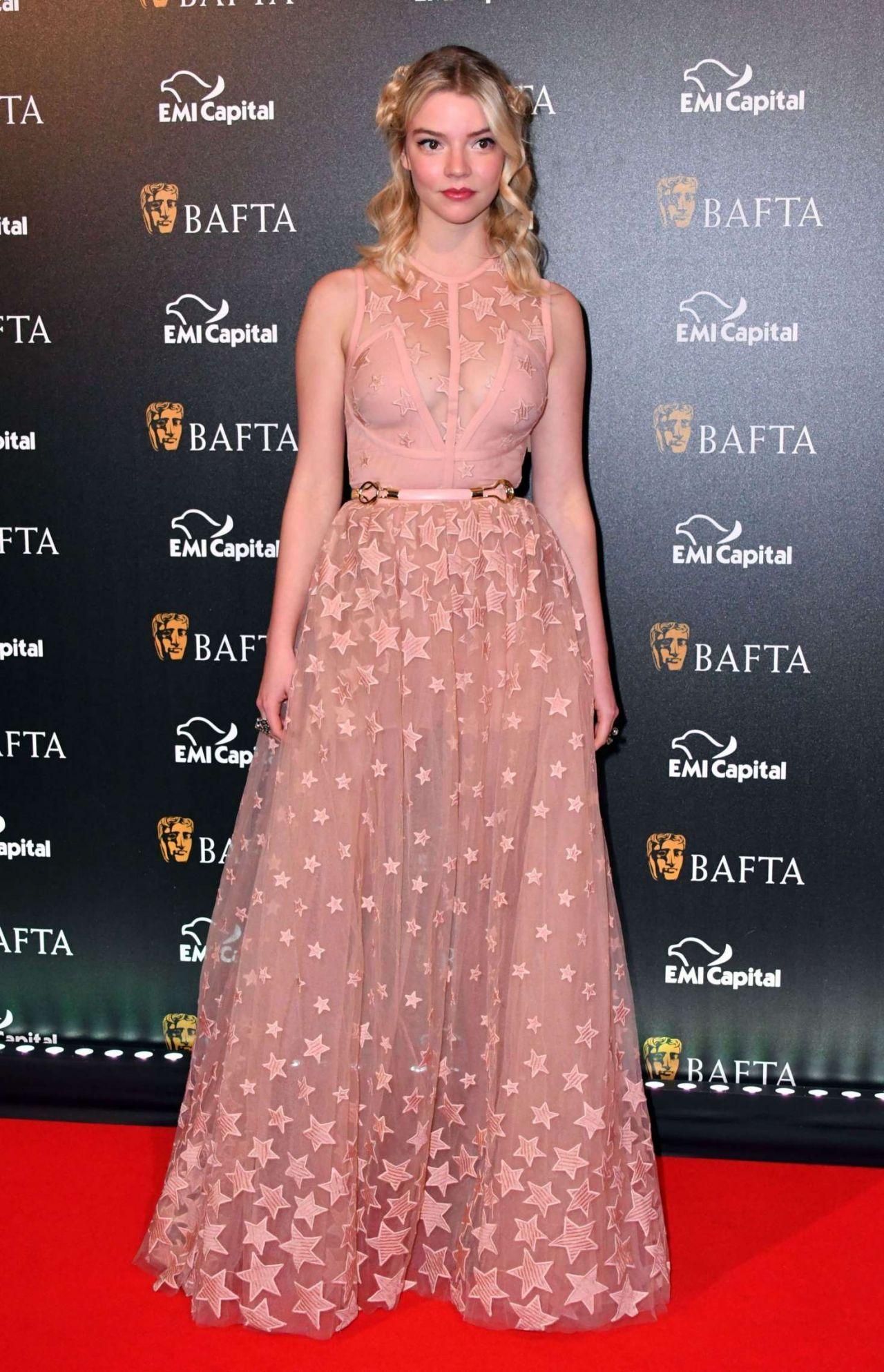 Anya Taylor-Joy – BAFTA Gala Dinner in London, UK 2/9/ 2017   red ...
