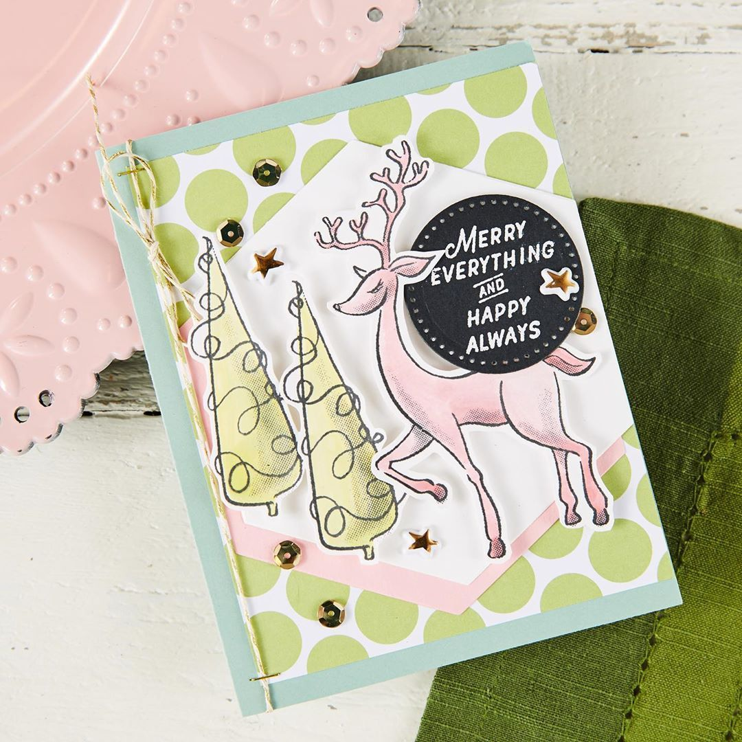 Fun Stampers Journey Merry Everything Stamp Set