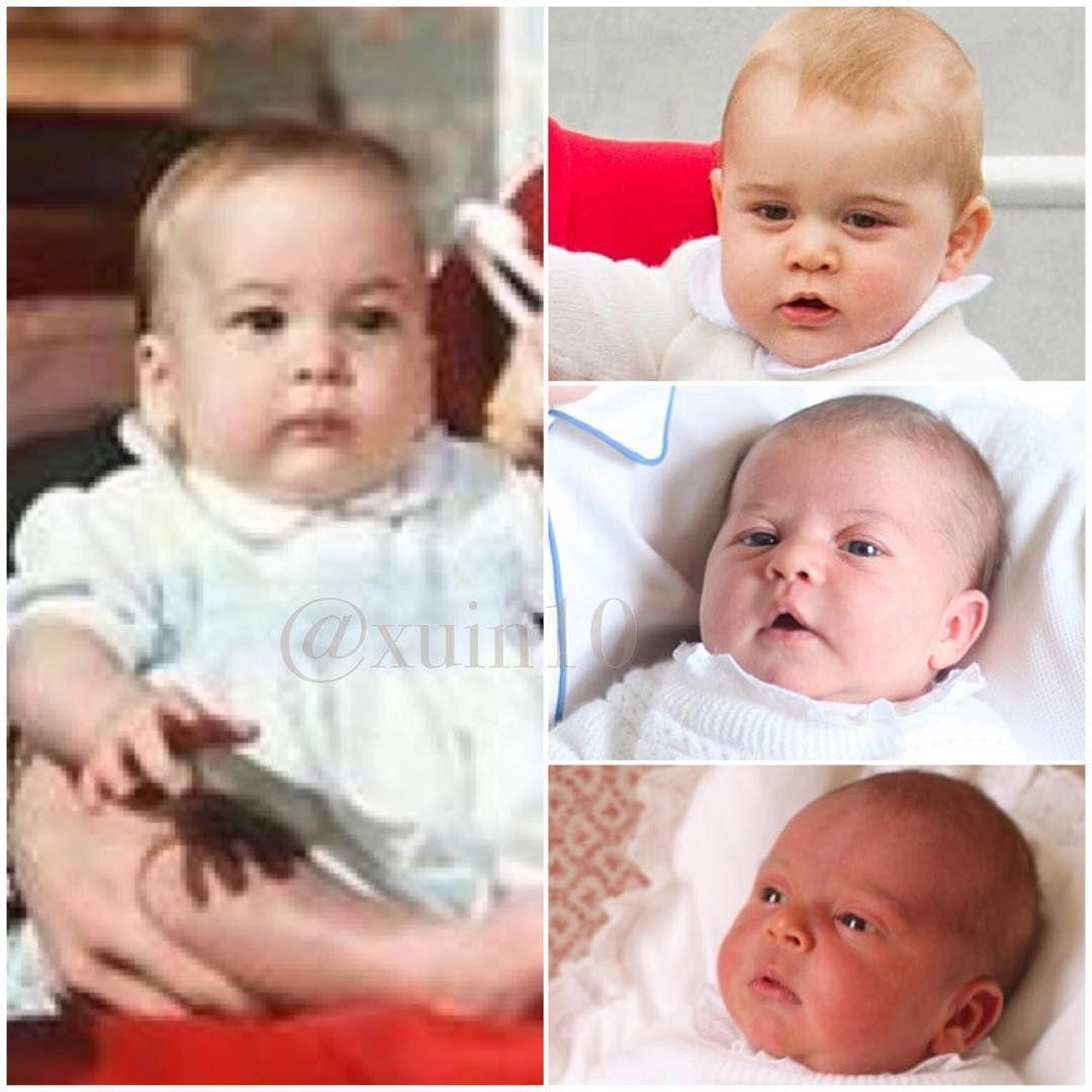 Prince William And Children Prince George, Princess