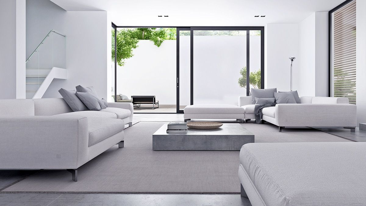 Wonderful Inspiring Minimalist Interiors With Low Profile Furniture