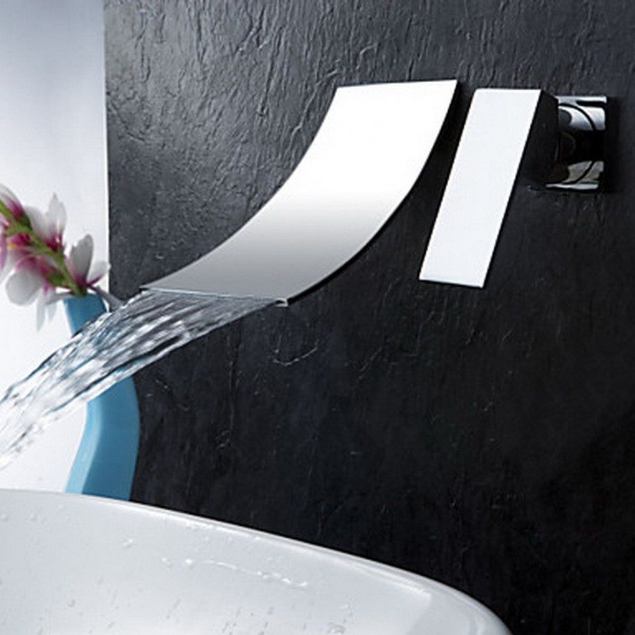 wall mount faucet for freestanding tub - Google Search | Bathrooms ...