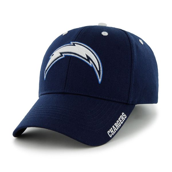 dbd88ae10293f San Diego Chargers Frost Light Navy 47 Brand Adjustable Hat