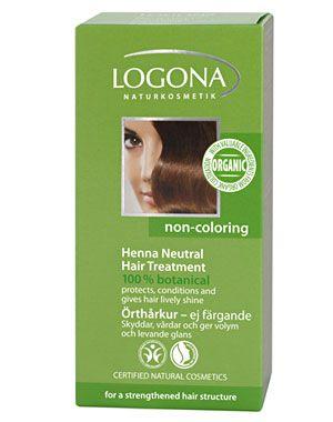 Logona Henna Neutral Hair Treatment Life Care Hair Henna Hair
