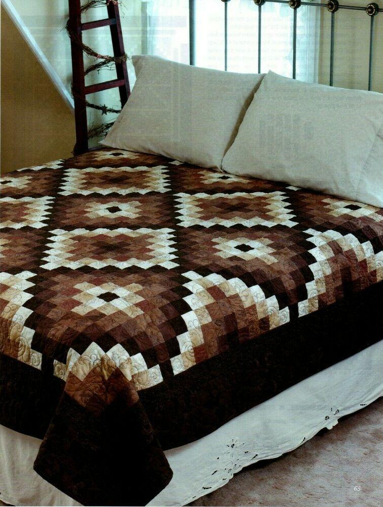 Chocolate Creams Quilt Pattern Pieced Jq Blue Quilt Patterns Quilt Patterns Quilts