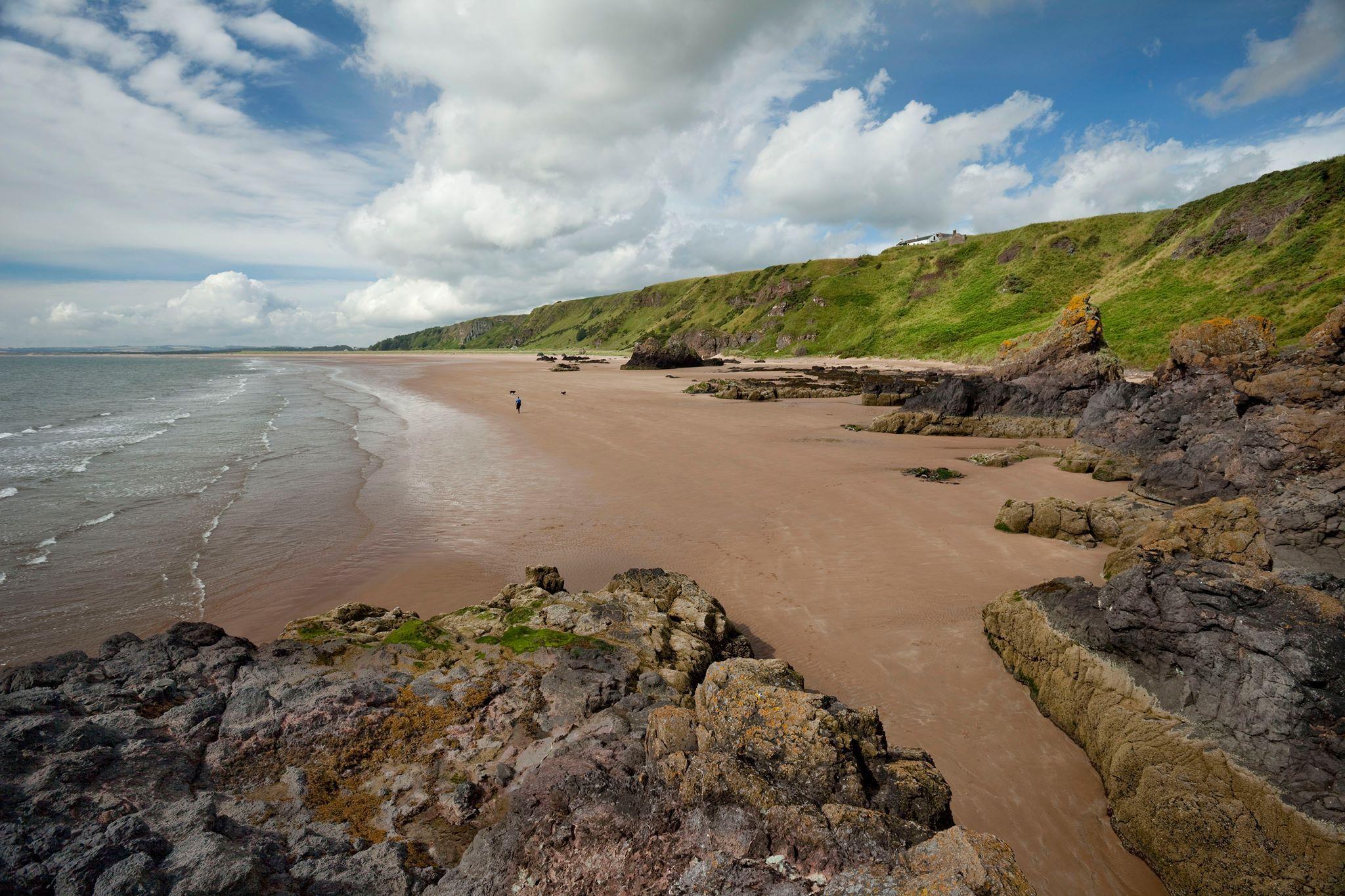 St. Cyrus Beach, Scotland
