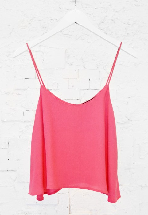 CROP TOP CORAL $42- CALL SPLASH TO ORDER 314-721-6442