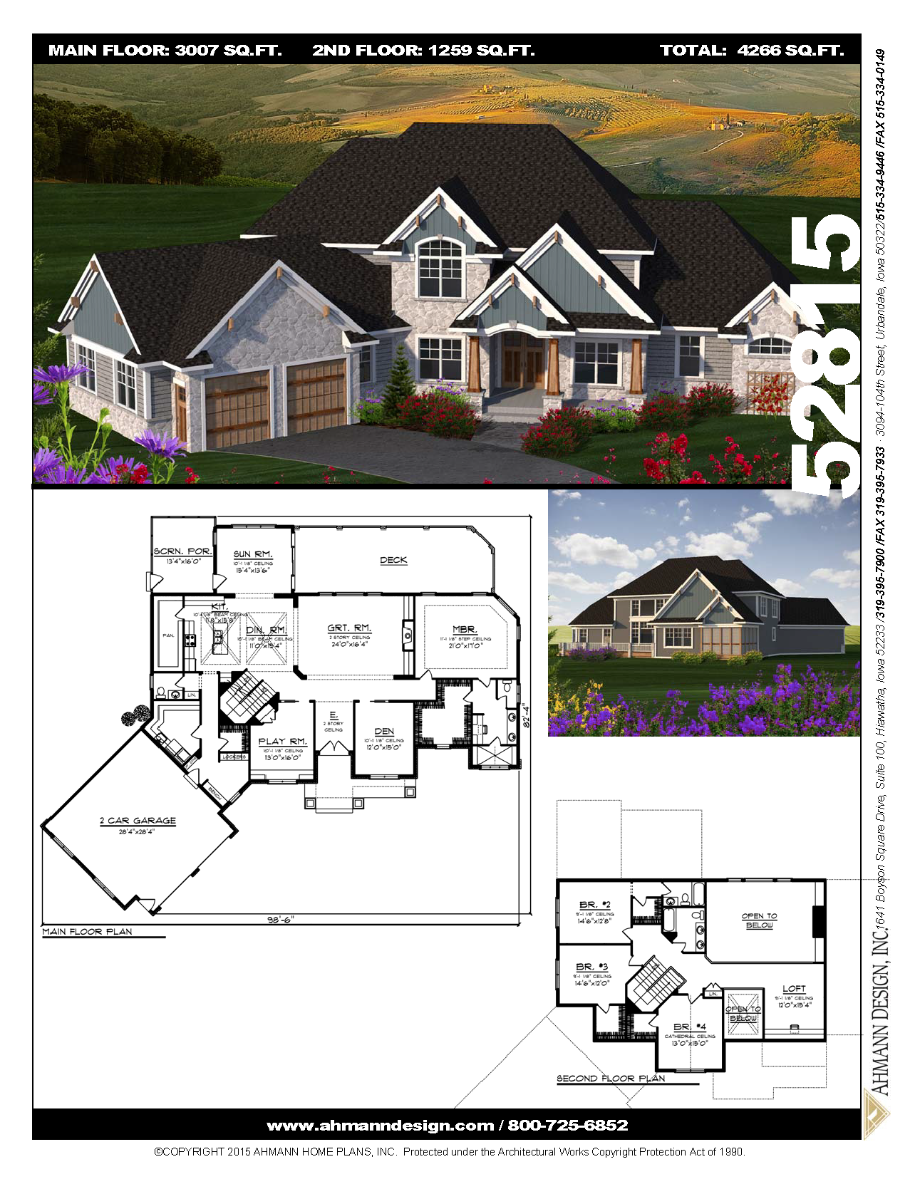 52815 Dream House Plans House Plans Sims House Design
