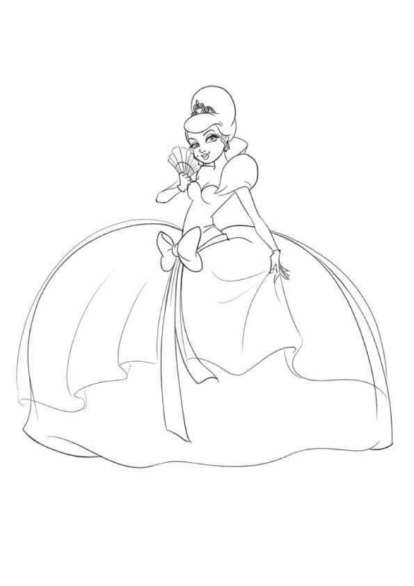 Top 25 Disney Princess Coloring Pages For Your Little Girl Disney Princess Coloring Pages Princess Coloring Pages Princess Coloring