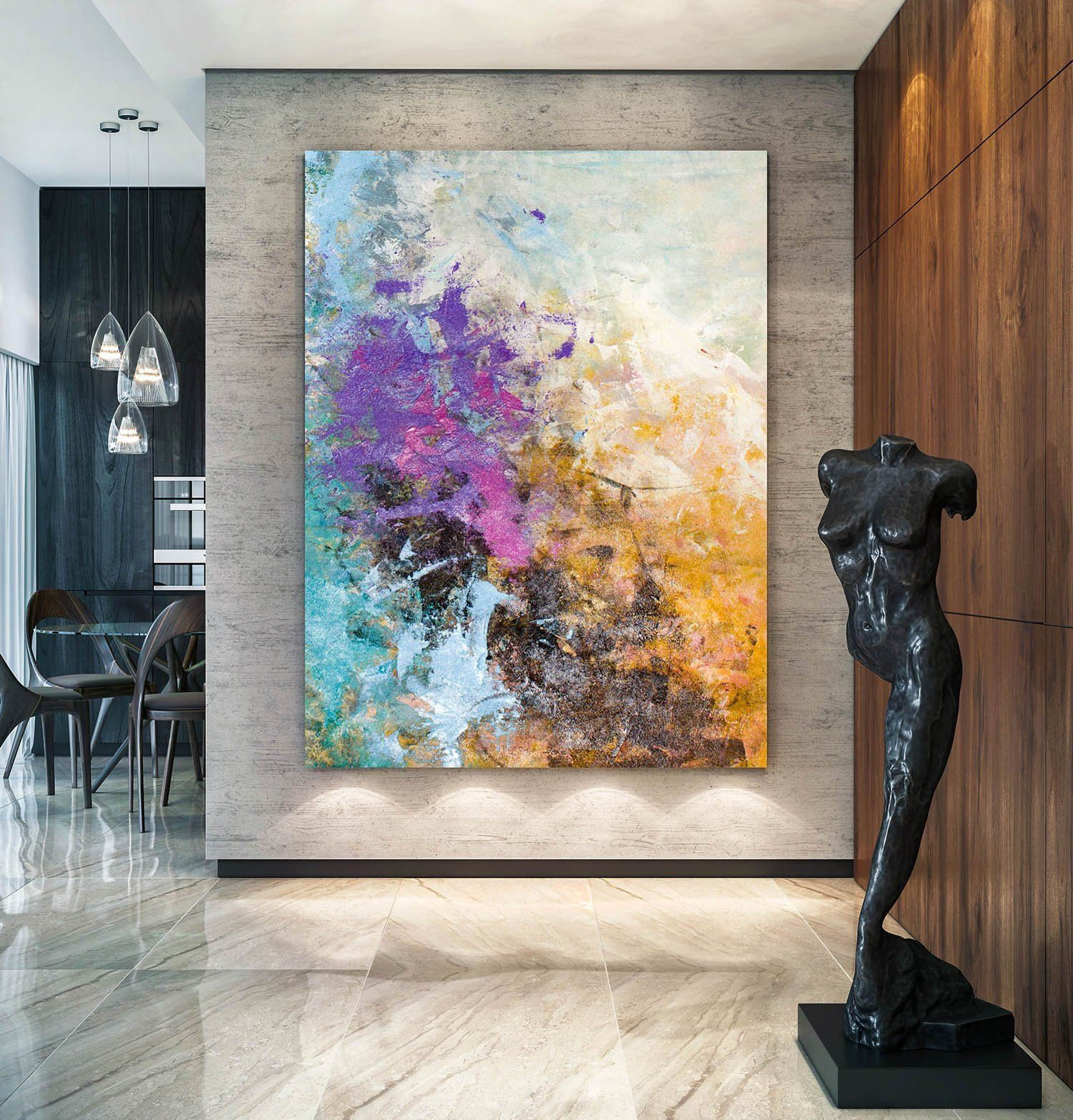 Large Acrylic Abstract Textured Paintings Contemporary Colourful Abstracts Extra Large Wall Art Abstract Paintings Abstract Abstract Painting Textured Wall Art