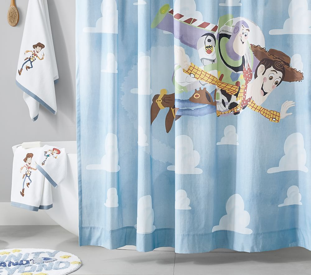 Disney And Pixar Toy Story Shower Curtain Multi In 2020