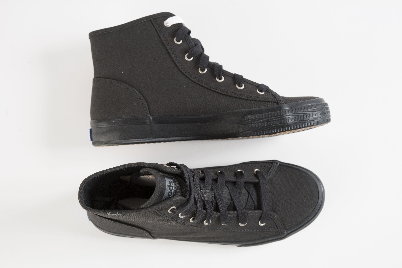 all black keds