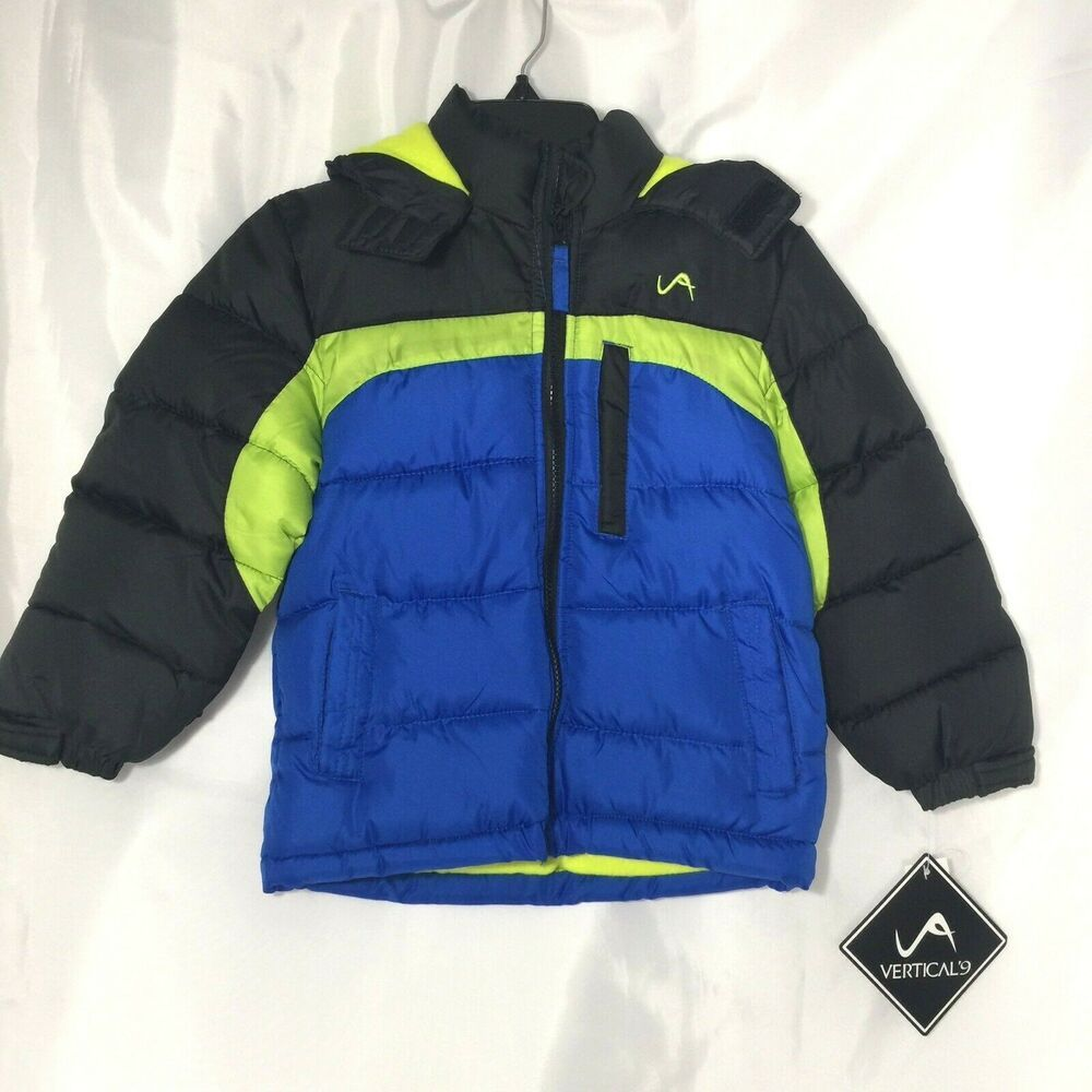 More Styles Available Vertical 9 Boys Bubble Jacket