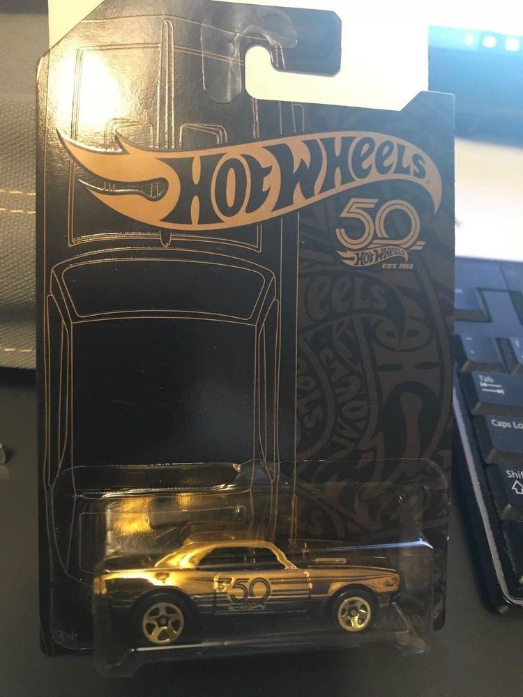 67 Camaro 50th Anniversary Gold Chase Car 2018 Hot Wheels