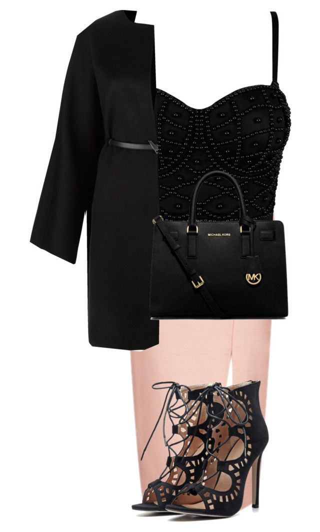 """""""Amazing"""" by idakotajohnson14 ❤ liked on Polyvore featuring C/MEO COLLECTIVE, Valentino and MICHAEL Michael Kors"""