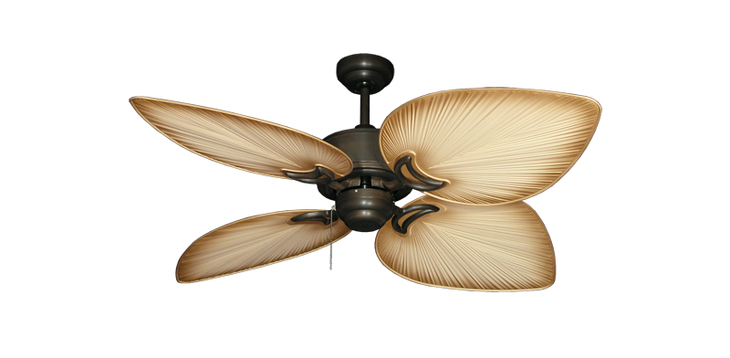 270 00 Bombay Orb With 50 Tan Blade Tropical Ceiling Fans Ceiling Fan Bronze Ceiling Fan