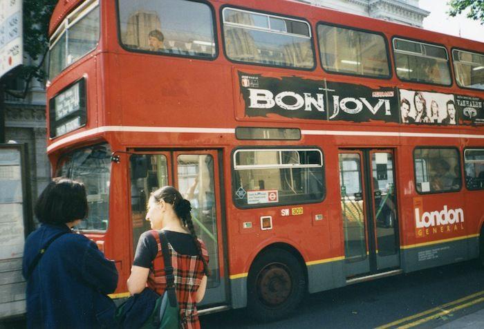 Bon Jovi bus London 1995!