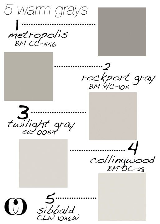 5 Warm Grays Add To That Behr Silver Drop And Glidden Birch Forthehome