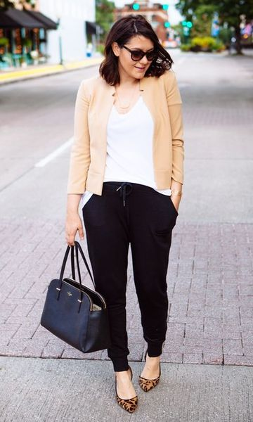 Blazer preto, sapatilha vermelha | Moda, Look