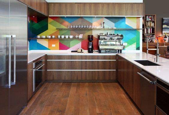 Colorful Kitchen Backsplashes For When White Won T Do Kitchen