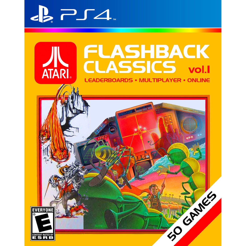 LTD Atari Flashback Vol 1 PS4 Xbox one, Atari, Playstation