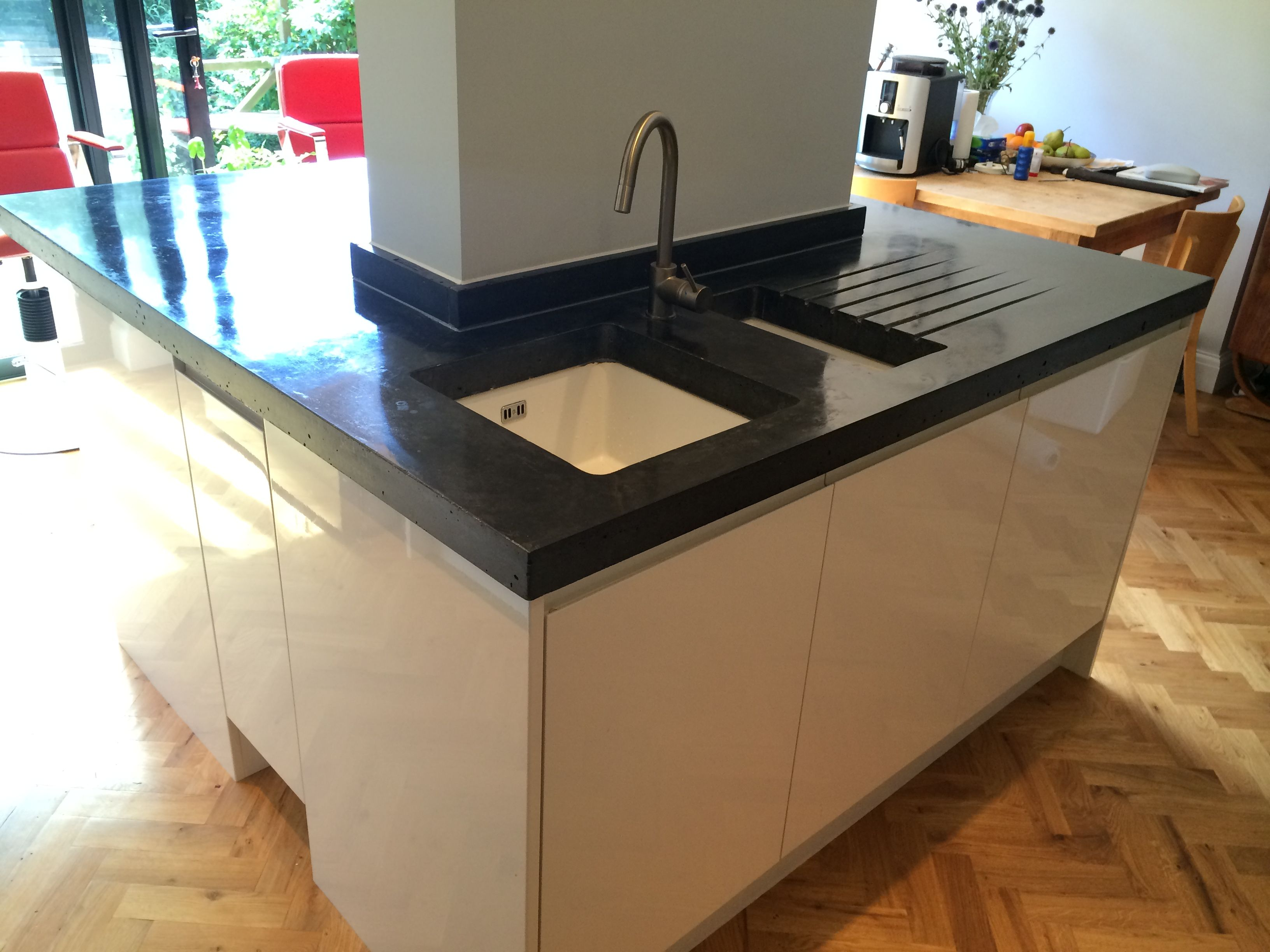 22 best polished concrete worktops/countertops images on pinterest