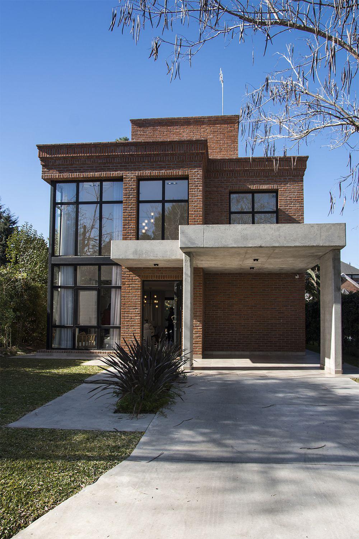Fachadas De Casas Con Ladrillo Visto Y Piedra