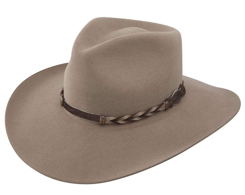 a2d60d4a Stetson Men's 4X Drifter Buffalo Felt Pinch Front Cowboy Hat - Sbdftr-163420