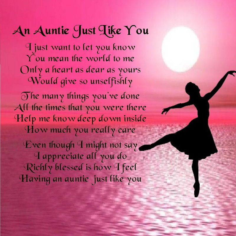 Personalised Coaster  An Auntie Just Like You - Ballerina Design + FREE GIFT BOX