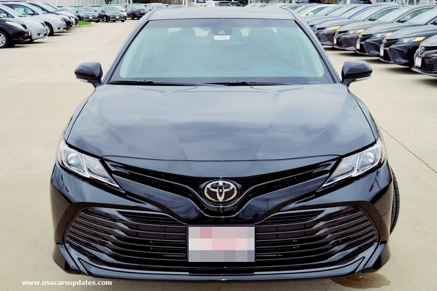 2019 toyota camry le redesign and reviews toyota camry